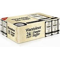 Warsteiner Premium Pilsener Dosenkoffer 24 x 0,33 Liter Premium Verum – Internationales Bier nach deutschem Reinheitsgebot – Palette Bier auch im Spar-Abo erhältlich