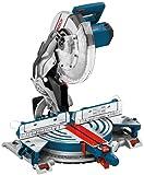 Bosch Professional Kapp- und Gehrungssäge GCM 12 JL (mit Laser, Sägeblatt, Spannzange, Karton, 230 - 240 Volt, 2.000 Watt, Sägeblattdurchmesser: 305 mm)