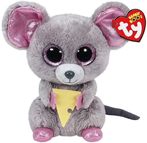 """Beanie Boo Mouse - Squeaker - 15cm 6"""""""
