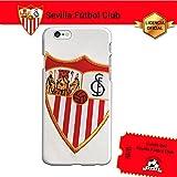 Sevilla F.C. Funda Gel Flexible iPhone 6 iPhone 6S, Carcasa TPU, Protege y se Adapta a la Perfección a tu Smartphone. Licencia Oficial Escudo1