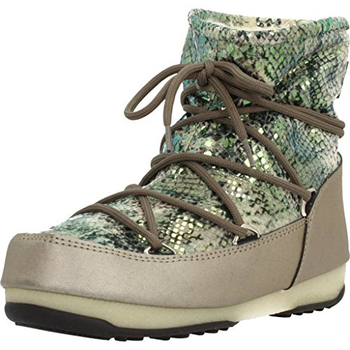 Moon Boot Bottines - Boots, Couleur Or, Marque, Modã¨Le Bottines - Boots W.E. Low Snake Or