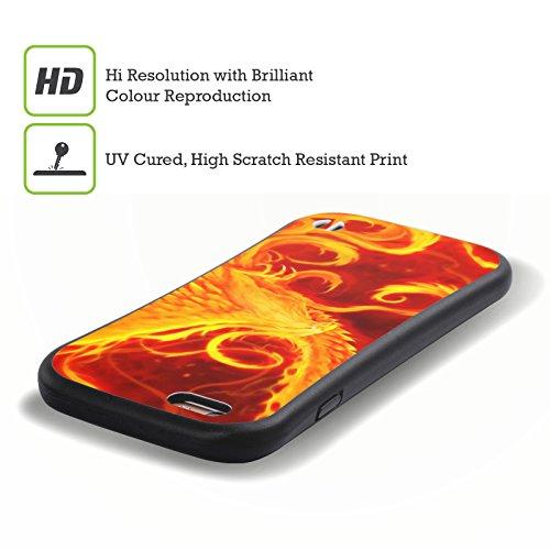 Ufficiale Christos Karapanos Rinascita Phoenix 3 Case Ibrida per Apple iPhone 6 Plus / 6s Plus Rinascita