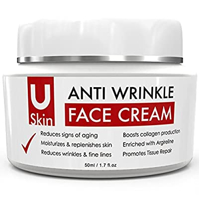 POWERFUL Age-Defying Face Cream with Matrixyl 3000 - Clinic Strength - Reduces Signs Of Ageing, Fine Lines & Wrinkles, Moisturises & Replenishes Skin - The Best Anti Wrinkle Cream, High Quality Ingredients - Vitamin C - Hyaluronic Acid - Great for All Typ