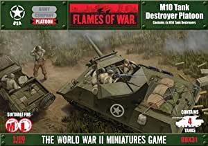 FLAMES OF WAR M10 tank destroyer platoon WARGAME [anglais]