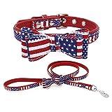 TFENG Halsband für Hunde und Katzen, Classic Soft Weich Baumwolle Einstellbare Katzenhalsband Welpen Hunde Halsband