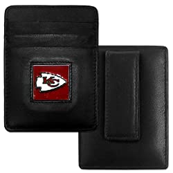 NFL Indianapolis Colts Leather Money Clip/Cardholder Packaged in Gift Box