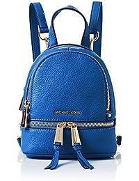 Michael Kors - Bolso mochila  de Piel Lisa para mujer azul azul