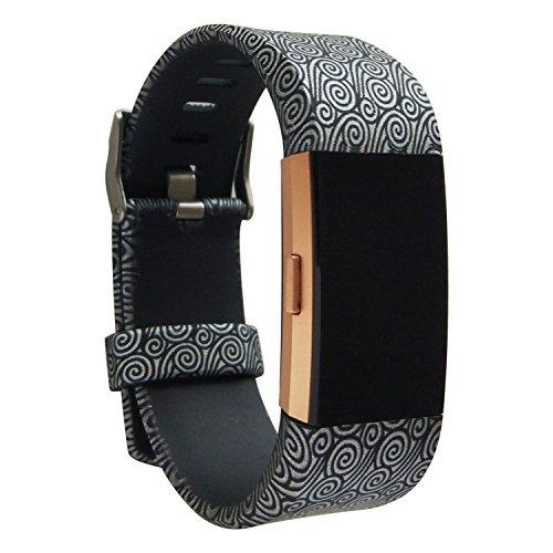 Charge 2 cinturino, barran® braccialetto morbido sportivo di ricambio in silicone per fitbit charge2