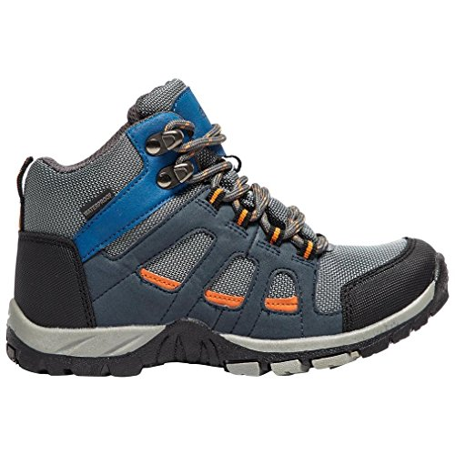 Peter Storm Chaussures de Chaussure Boys 'Headley Waterproof Mid Walking Boot Chaussures Grey, Gris, 38