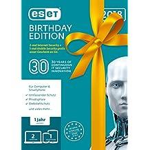 ESET Birthday Edition V2018 (2x ESET Internet Sec.+ 1x ESET Mobile Sec.) (FFP)