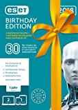 ESET Birthday Edition |2x Internet Security & 1x Mobile Security | Insgesamt 3 Ger�te | 1 Jahr Virenschutz | F�r Windows (10, 8, 7 und Vista) und Android | Download Bild