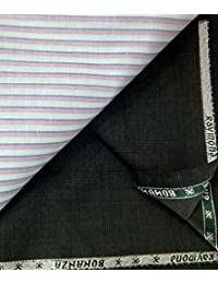 Raymond Multi Color Poly Viscose Unstitched Shirts & Trousers Fabric