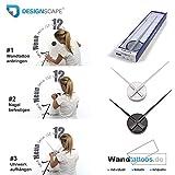 DESIGNSCAPE® Wandtattoo Uhr Familienzeit mit Fotorahmen - Zeit, die man mit der Familie verbringt, ist jede Sekunde wert. 120 x 69 cm (BxH) weiss inkl. Uhrwerk silber, Umlauf 44cm DW813031-M-F5-SI für DESIGNSCAPE® Wandtattoo Uhr Familienzeit mit Fotorahmen - Zeit, die man mit der Familie verbringt, ist jede Sekunde wert. 120 x 69 cm (BxH) weiss inkl. Uhrwerk silber, Umlauf 44cm DW813031-M-F5-SI