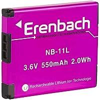 Eren BACHMANN Premium Batería para la Canon IXUS 190/185/170–-- batería de repuesto para Canon NB-11L
