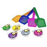 Learning Resources- Juego para Practicar Las Tablas de multiplicar con matamoscas, Color (LSP3053UK)