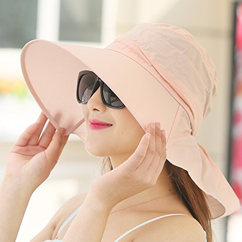 51OtjcujIxL BEST BUY UK #1LKMNJ Ms. Hat Hats Cool Cap Outdoor Hat Foldable Beach Seaside Vacation , Pink price Reviews uk