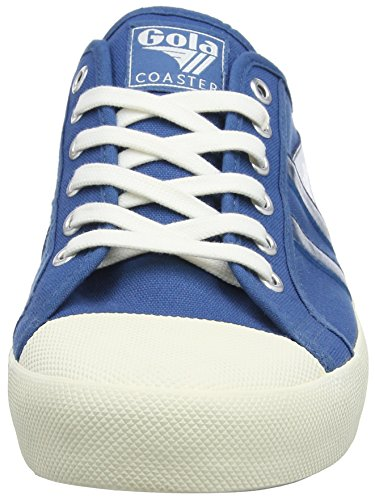 Gola Coaster, Sneakers Basses Homme Bleu (Marine Blue/off White Me)