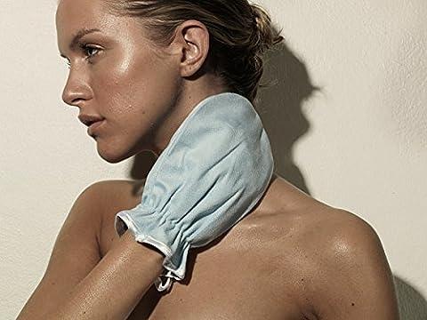 Gant Démaquillant et Exfoliant en microfibre pour visage et corps