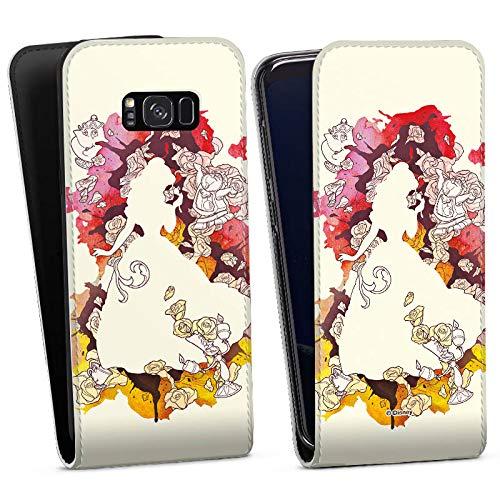 Samsung Galaxy S8 Plus Flip Case Tasche Hülle Disney Belle Princess