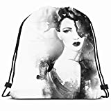 KAKALINQ Is A Ancient Brand Designed For Men And Women Offering Slim Fit Style With Highest Qualities. Drawstring Team Training Canvas Bag Comfortable To The Touch Features A Drawstring Closure Can Be Used As A Backpack Lightweight For Ease Of Carryi...