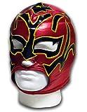 Luchadora Estrella Fugaz Máscara de lucha libre para adultos, diseño de estrella de lucha libre mexicana