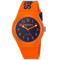 SUPERDRY Unisex Analogue Quartz Watch with Silicone Strap SYG164O