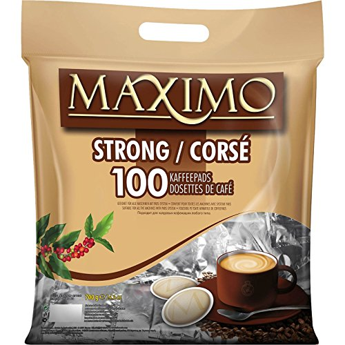 3 x MAXIMO Strong 100 Kaffeepads (3 x 100 Pads)