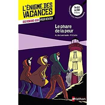 Le phare de la peur - L'énigme de vacances - CE2 vers CM1 - 8/9 ans