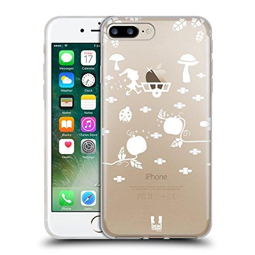 Ernte Design (Head Case Designs Ernte Märchenhaft Äpfel Soft Gel Hülle für Apple iPhone 7 Plus / 8 Plus)