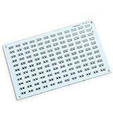 RoboMall LED Musik Ton Spektrum Anzeige Panel Lichtorgel DIY Elektronik Bausatz