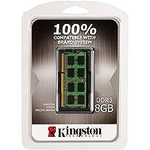 Memoria PC portátil–Kingston 8GB DDR3L SO-DIMM 1600mhz–RAM DDR3-SDRAM PC3–12800–kcp3l16sd8/8(garantía de vida por Kingston)