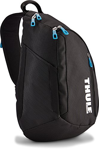 Thule Crossover Sling Pack Rucksack (Notebook-Fach, bis zu 13 Zoll) schwarz