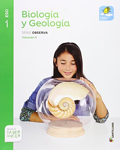 Biologia y geologia mochila ligera serie observa 1 eso saber hacer