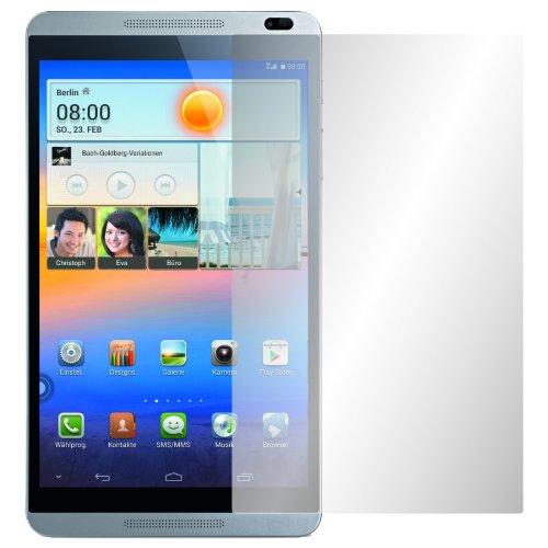 2 x Slabo Displayschutzfolie Huawei MediaPad M1 8.0 Displayschutz Schutzfolie Folie