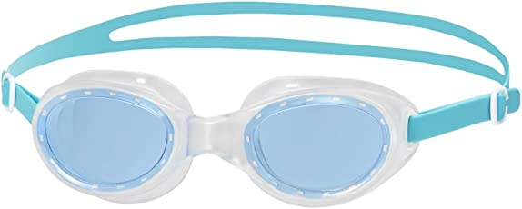 Speedo Futra Classic Swimming Goggles, Adult Free Size (Green/Blue)