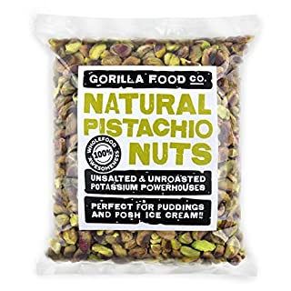 Gorilla Food Co. Natural Pistachio Nuts Raw Kernels - 200g