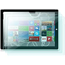 UC-Express Lot de 3 films de protection d'écran pour Microsoft Surface PRO 3 Transparent