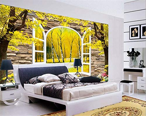 Wallpaper Mural Große kreative Tapete Mode Fantasie dreidimensionale 3D-Kunst Landschaft TV Hintergrundwand-400x280cm