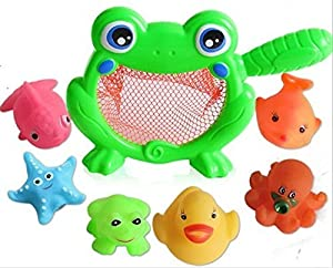 Bath Toys AnGeer Carton Water Bathtub Toy for Baby, Toddlers, Kids