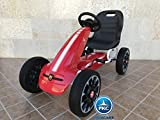 KART A PEDALES FIAT ABARTH RED