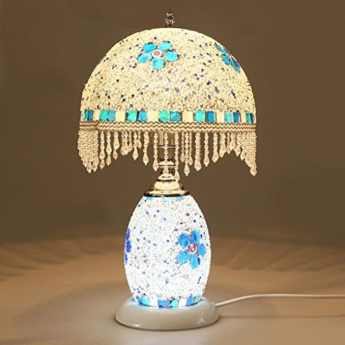 IG Mosaic Y Desk Lamp Bedroom Bedside Lamp Color Glass Creative Night Light Dual-Use Decorative Lamps