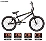 KHE BMX Fahrrad Cosmic schwarz mit Affix Rotor nur 11,1kg!