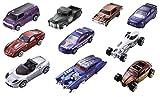 Mattel 54886 Hot Wheels Fahrzeuge 10er Geschenkset, 38 x 28 x 21 cm, farblich sortiert