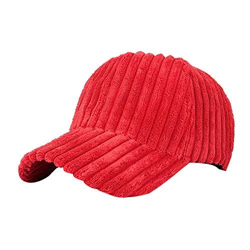 Oliviavan Frauen Männer Cord Baseballmütze Snapback Hip Hop Flacher Hut Unisex Hüte Hut Mützen Sturmhauben Jersey Hut