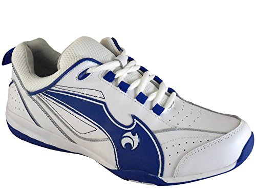 mens-henselite-blade-quality-lawn-bowling-shoes-white-blue-uk-8