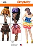 Best Simplicity Costumes - Simplicity Creative Patterns 1346 Misses' Costume Skirts Review