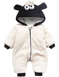 De feuilles Chic-Chic Unisex Infant Baby Cute WinterWarm Hooded Romper Jumpsuit Snowsuit Clothing Outfit