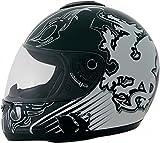 ROADSTAR Integral-Helm 'Revolution', Dekor Wales weiß Gr.M