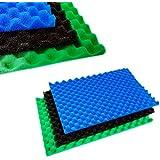 Teichfiltermatten-Set, aus Filterschaum, 3 verschiedene Ausführungen (grob / mittel / fein), 43,18x27,94cm