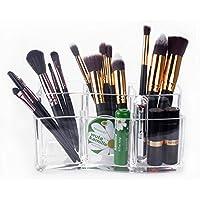 Organisateur de Maquillage – Meersee Rangement en Acrylique cosmétiques Organisateur Pour Pinceaux à maquillage
